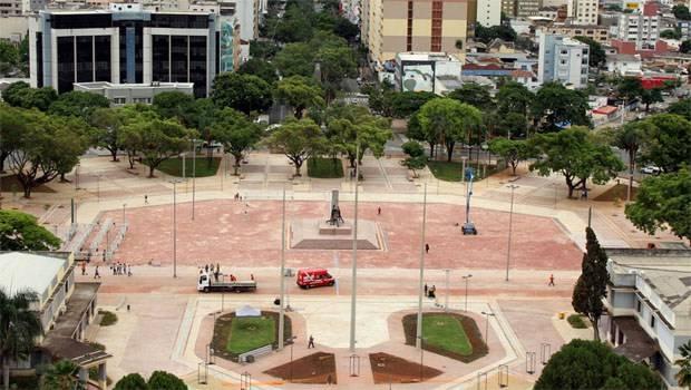 Praça Cívica será palco de circuito cultural, diz Marconi, em evento no Palácio das Esmeraldas | Foto: divulgação