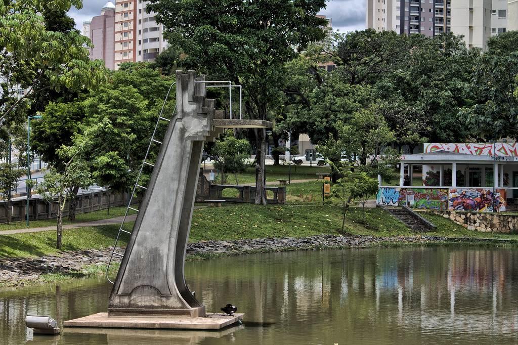 Parque Lago das Rosas é cenário da criminalidade em Goiânia   Foto: Getúlio Gracelli Júnior