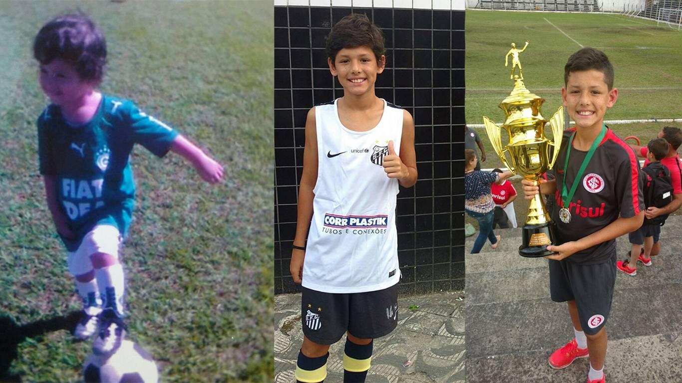 Vitor recebeu mais apoio e condições de treinamento no Internacional do que no Goiás   Foto: Reprodução/Redes Sociais