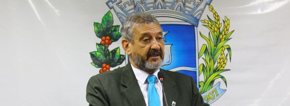 Líder tucano na Câmara de Anápolis Mauro Severiano   Foto: Câmara Municipal