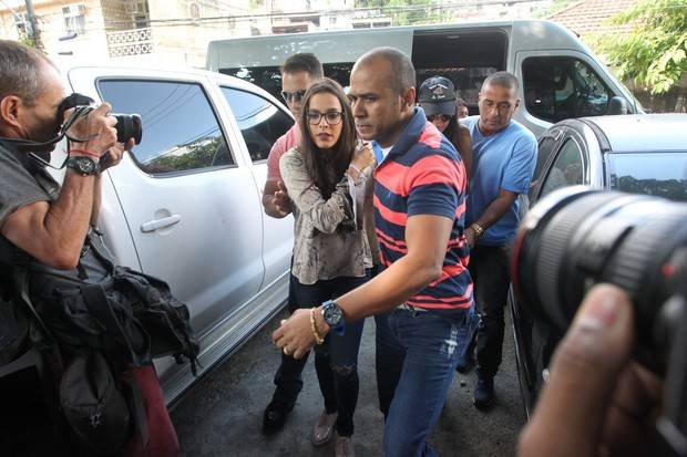 Emilly Araújo depõe à polícia sobre caso de agressão | Foto: Marcello Sá Barreto/Ag. News