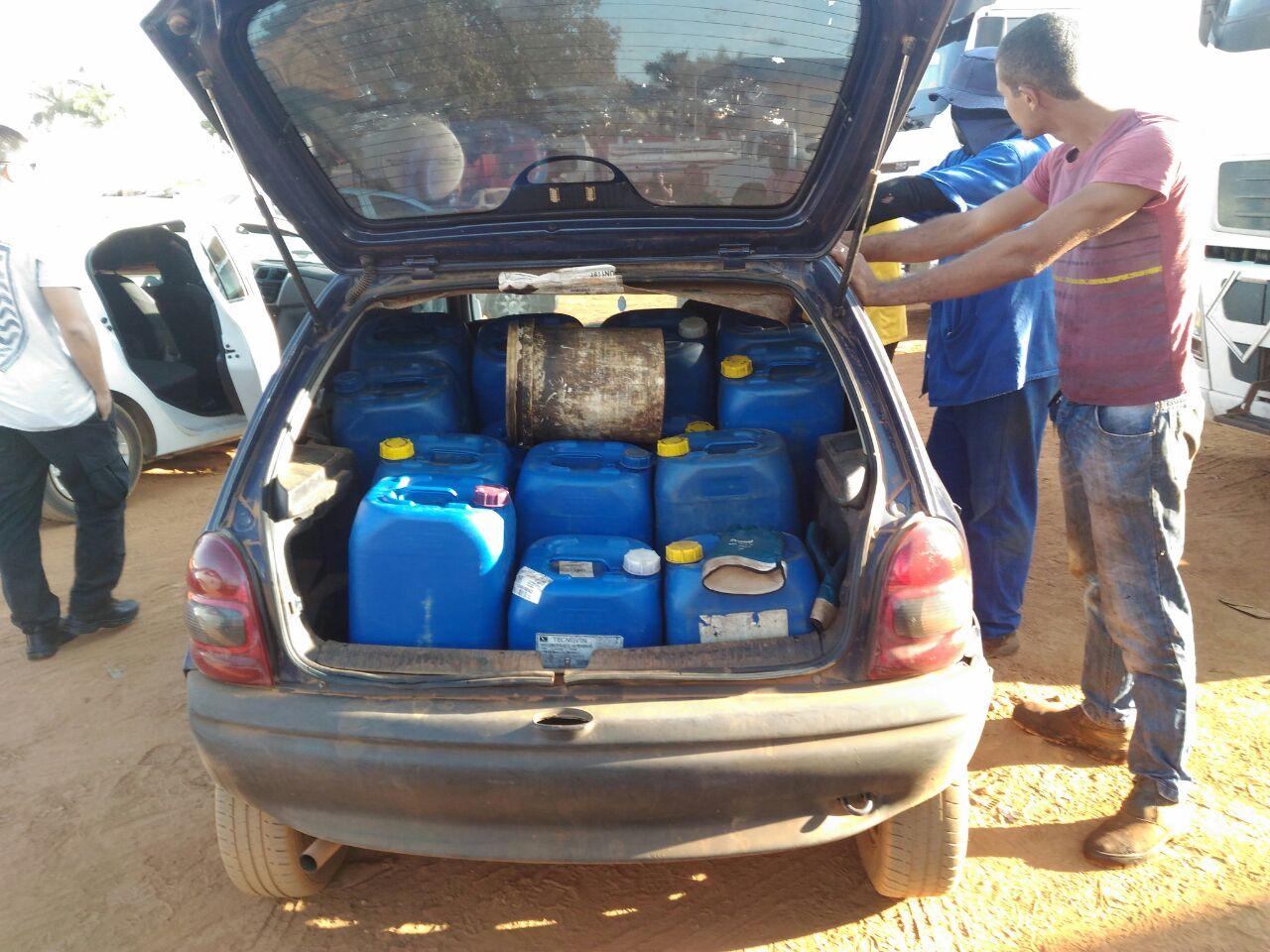 Operação Petro-Furto foi deflagrada pela Delegacia Estadual de Repressão a Roubos de cargas (Decar) | Foto: Divulgação/PC