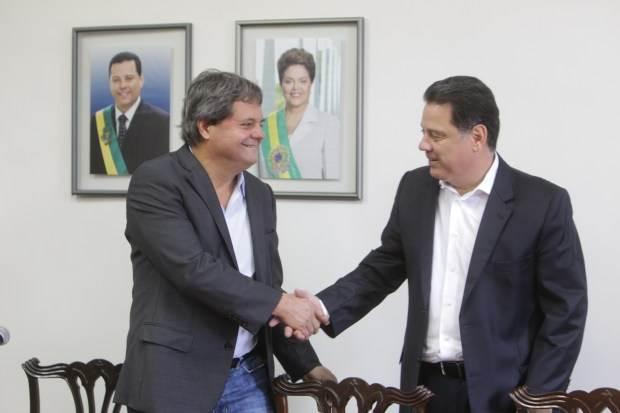 Presidente da Agetop Jaime Ryncón e governador de Goiás Marconi Perillo foram citados em delação de ex-executivo da Odebrecht | Foto: Reprodução