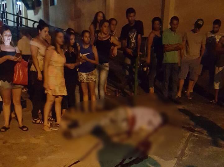 Vigilante não tinha passagens e foi baleado na região da feira realizada no Setor Coimbra | Foto: Leitor/Folha Z