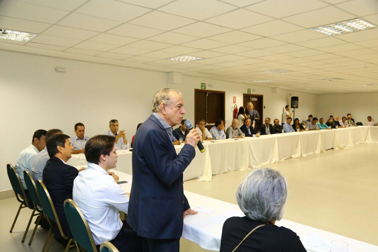 Evento ocorreu no auditório do Hotel Park Alfa, no Park Lozandes, em Goiânia, e reuniu todos os prefeitos do partido | Foto: Divulgação