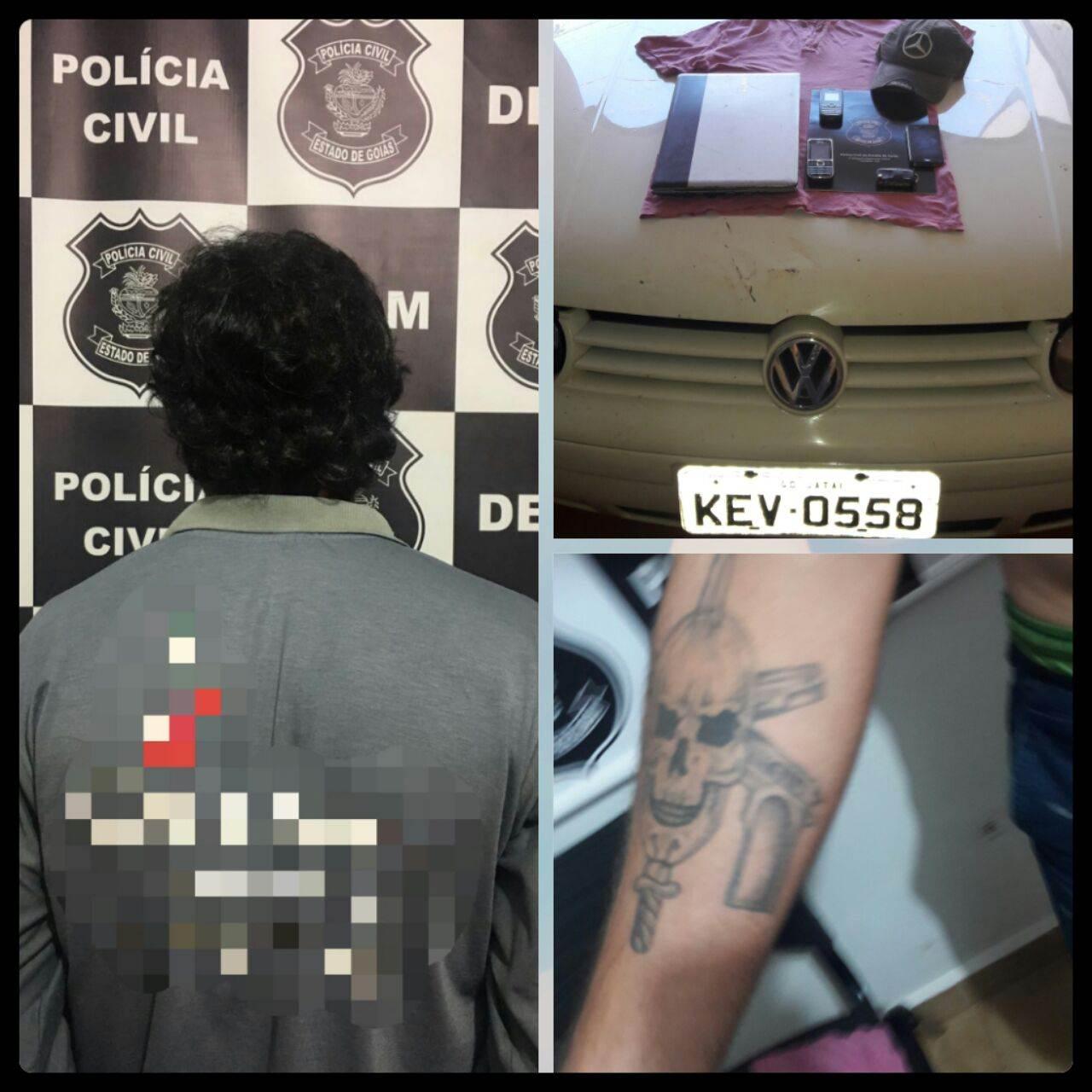 Suspeito de estuprar travestis em Itumbiara tem 25 anos | Foto: Divulgação/Polícia Civil