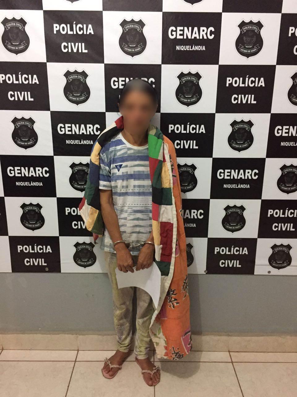Emiliana foi presa em flagrante | Foto: Divulgação/ Genarc