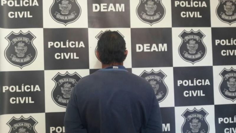 Homem foi preso em Itumbiara após teste de DNA | Foto: Divulgação/ Polícia Civil