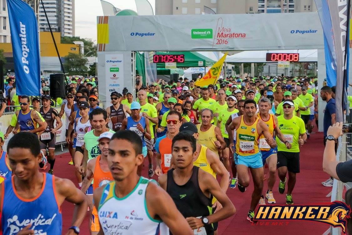 Meia Maratona terá concentração no pátio de eventos do Flamboyant Shopping. O percurso ainda não foi definido   Foto: divulgação