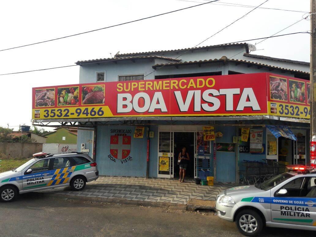 Supermercado no Residencial Boa Vista, em Senador Canedo, Região Metropolitana de Goiânia | Foto: Divulgação/PM