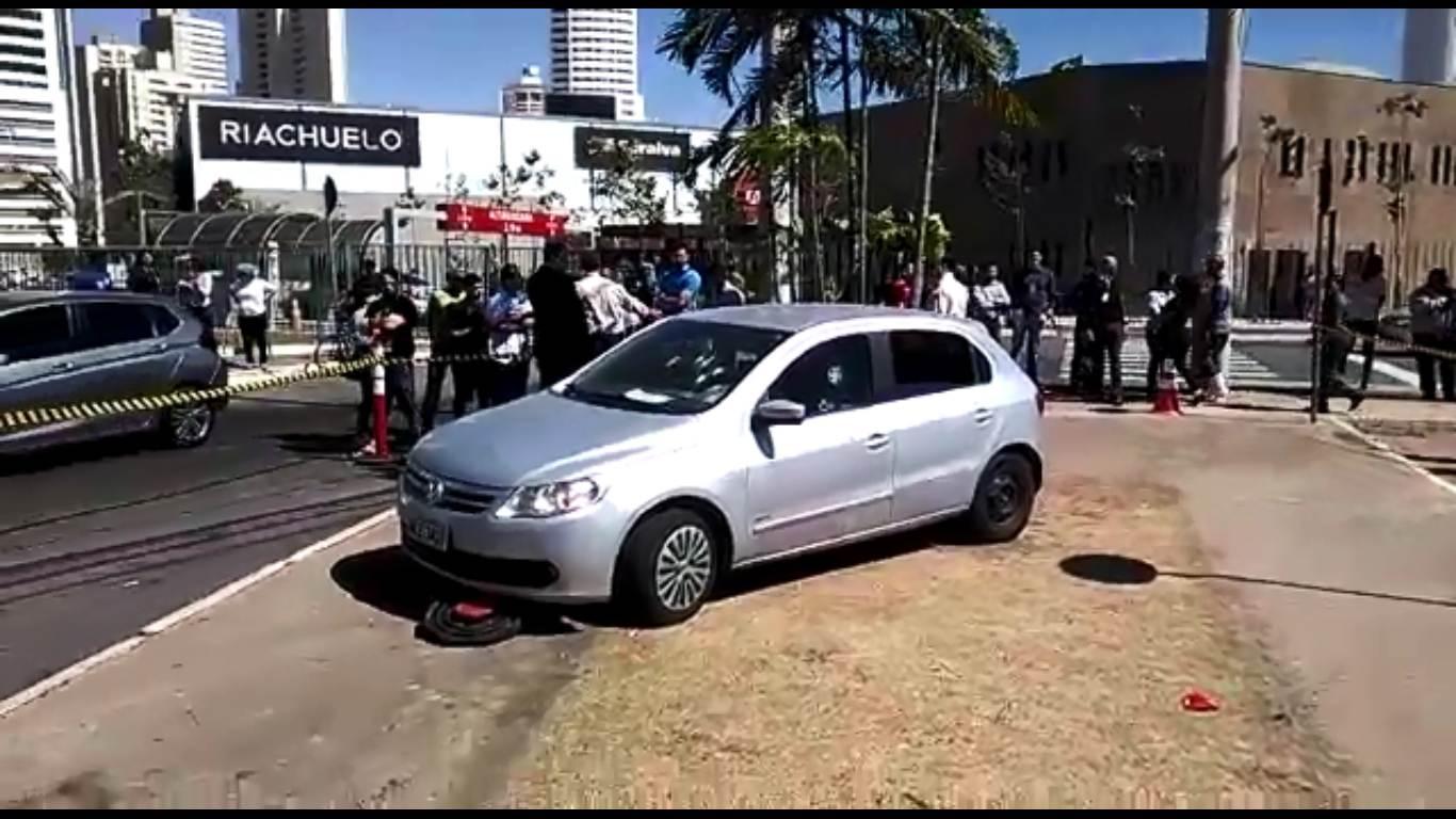 Crime aconteceu no final da manhã desta terça-feira, 1, no Jardim Goiás   Foto: Leitor/Whatsapp