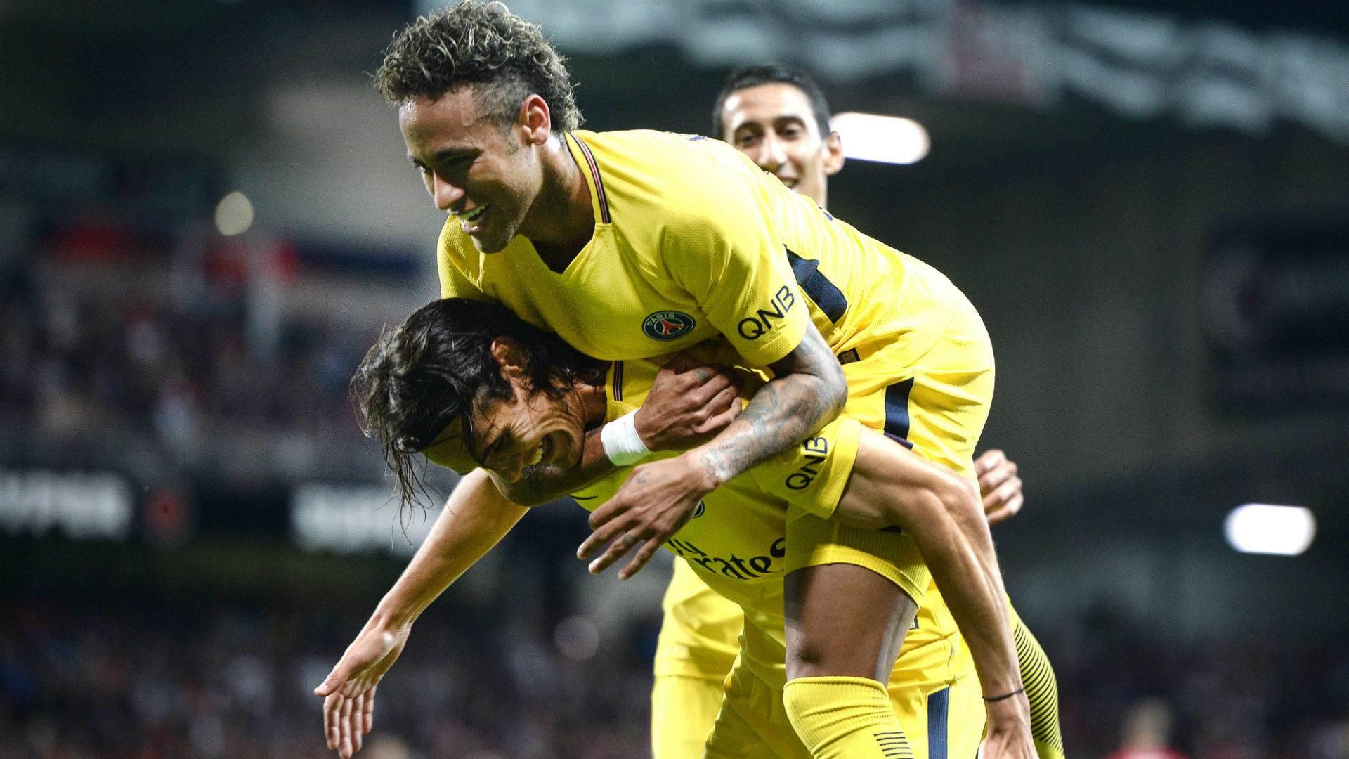 Neymar e Cavani fazem dupla de ataque mais poderosa do Campeonato Francês | Foto: Reprodução