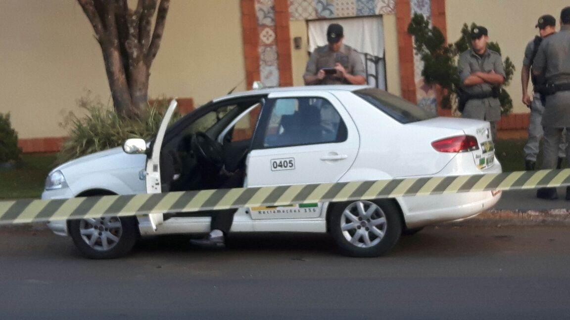 Taxista de 58 anos levou dois tiros e não resistiu aos ferimentos   Foto: Leitor FZ