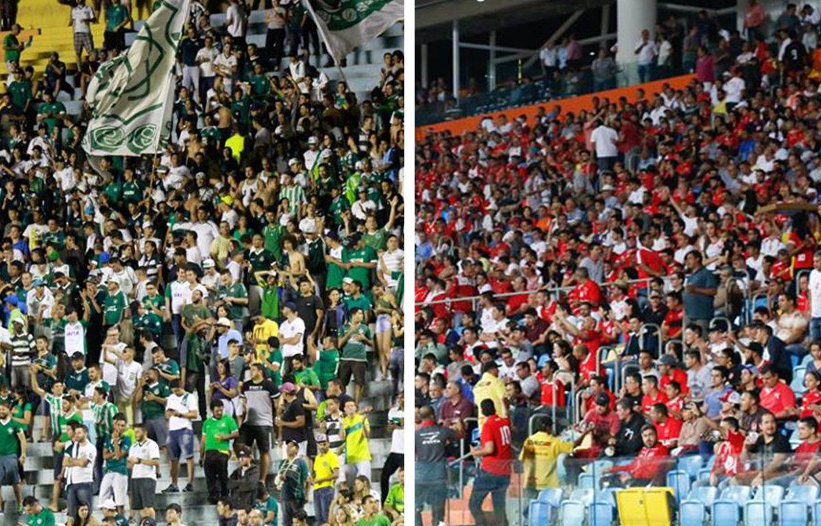 Média de públicos dos rivais goianos na Série B é diferente do desempenho das equipes | Foto: Divulgação