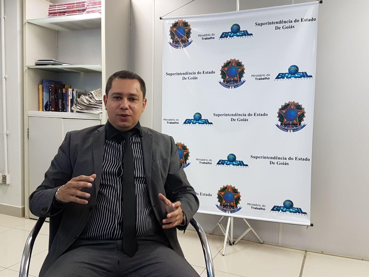 Superintendente do Ministério do Trabalho em Goiás,Dagmar Pereira   Foto: Folha Z