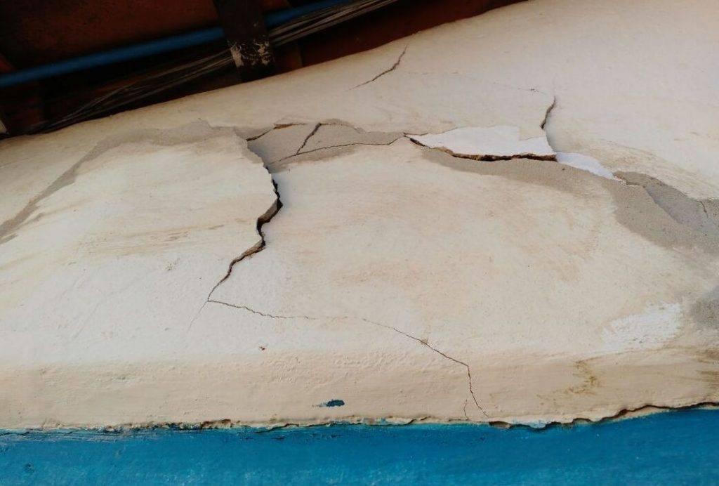 Prédio da delegacia tem danos estruturais perigosos, aponta o MP | Foto: Divulgação / MPGO