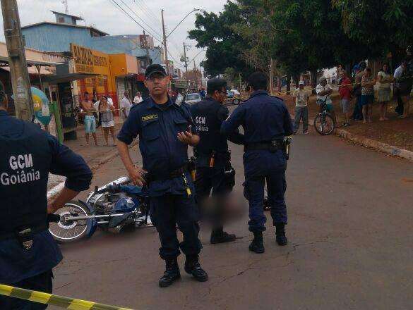 Guarda civil deu voz de prisão aos criminosos, que tentaram reagir e foram alvejados   Foto: Leitor / WhatsApp