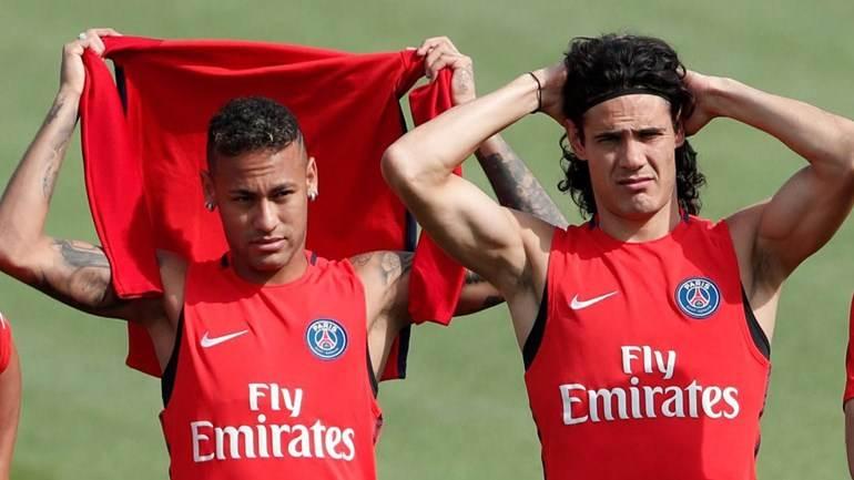 Neymar e Cavani vivem Guerra Fria no PSG | Foto: Reprodução