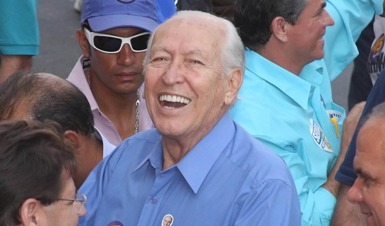 Ex-prefeito de Goiânia Nion Albernaz   Foto: Reprodução