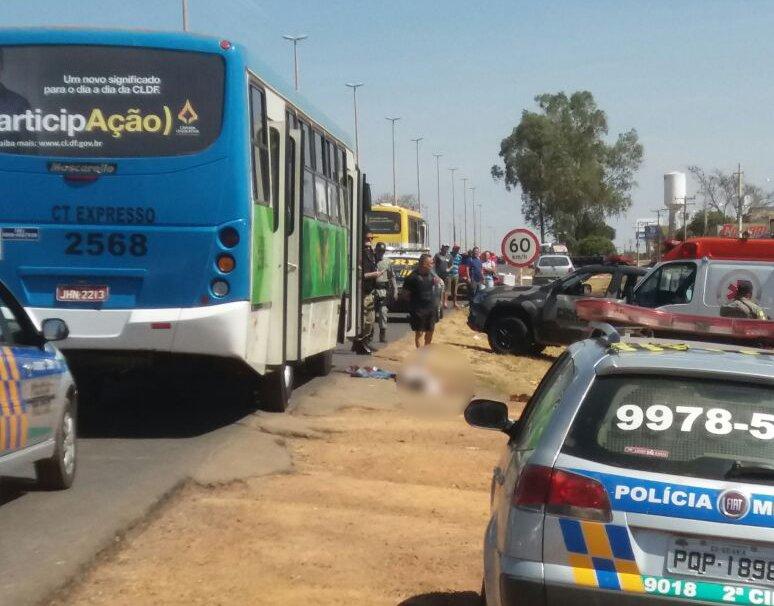 PM reagiu a assalto e baleou dois criminosos | Foto: Leitor / WhatsApp