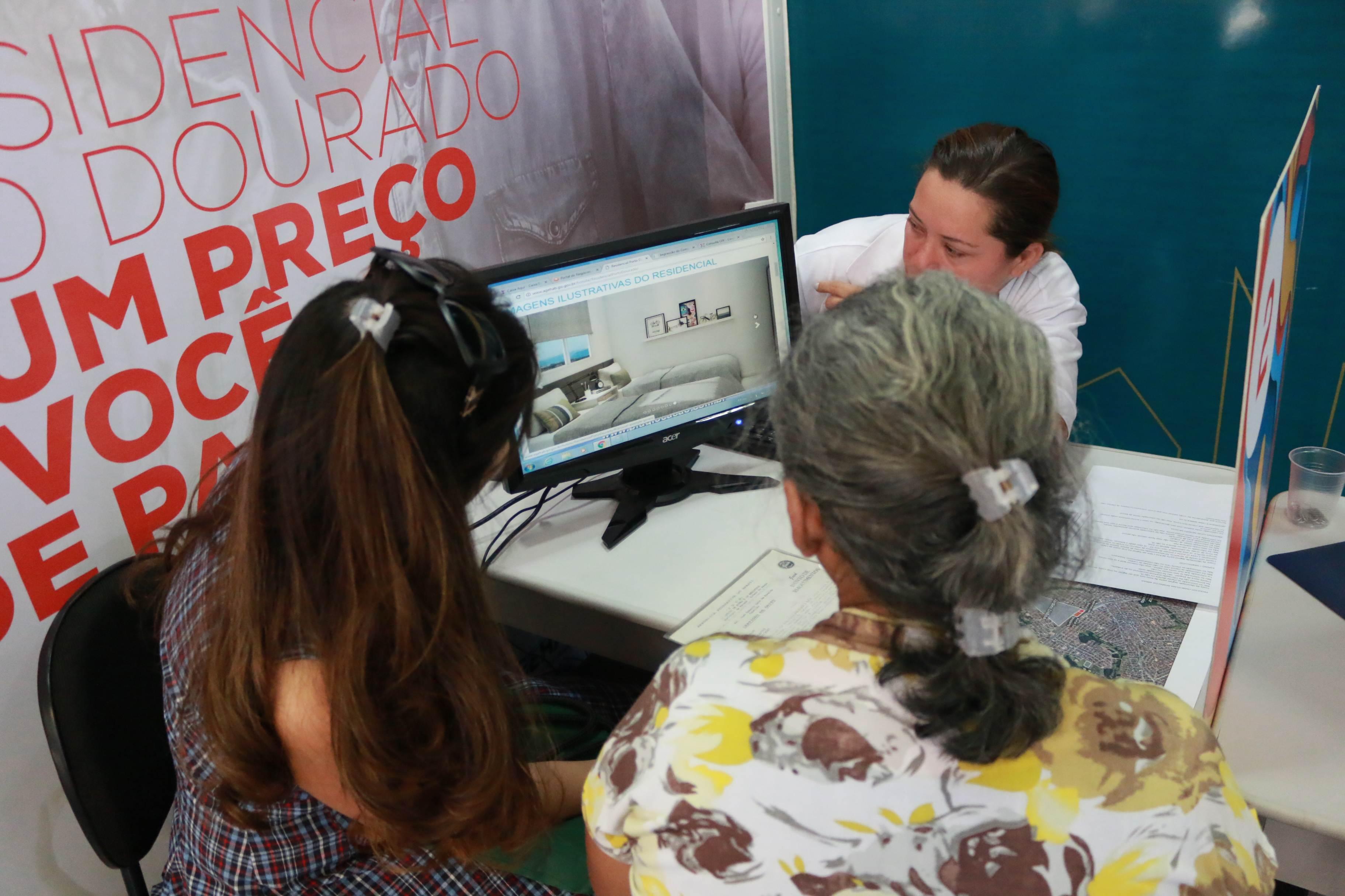 Moradias serão entregues a famílias de baixa renda pela Agência Goiana de Habitação | Foto: Sérgio Willian