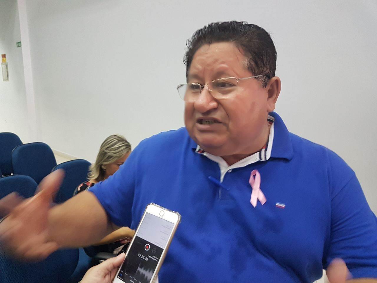 Chico Abreu foi reeleito por unanimidade presidente do PSDB de Aparecida de Goiânia   Foto: Valdemy Teixeira
