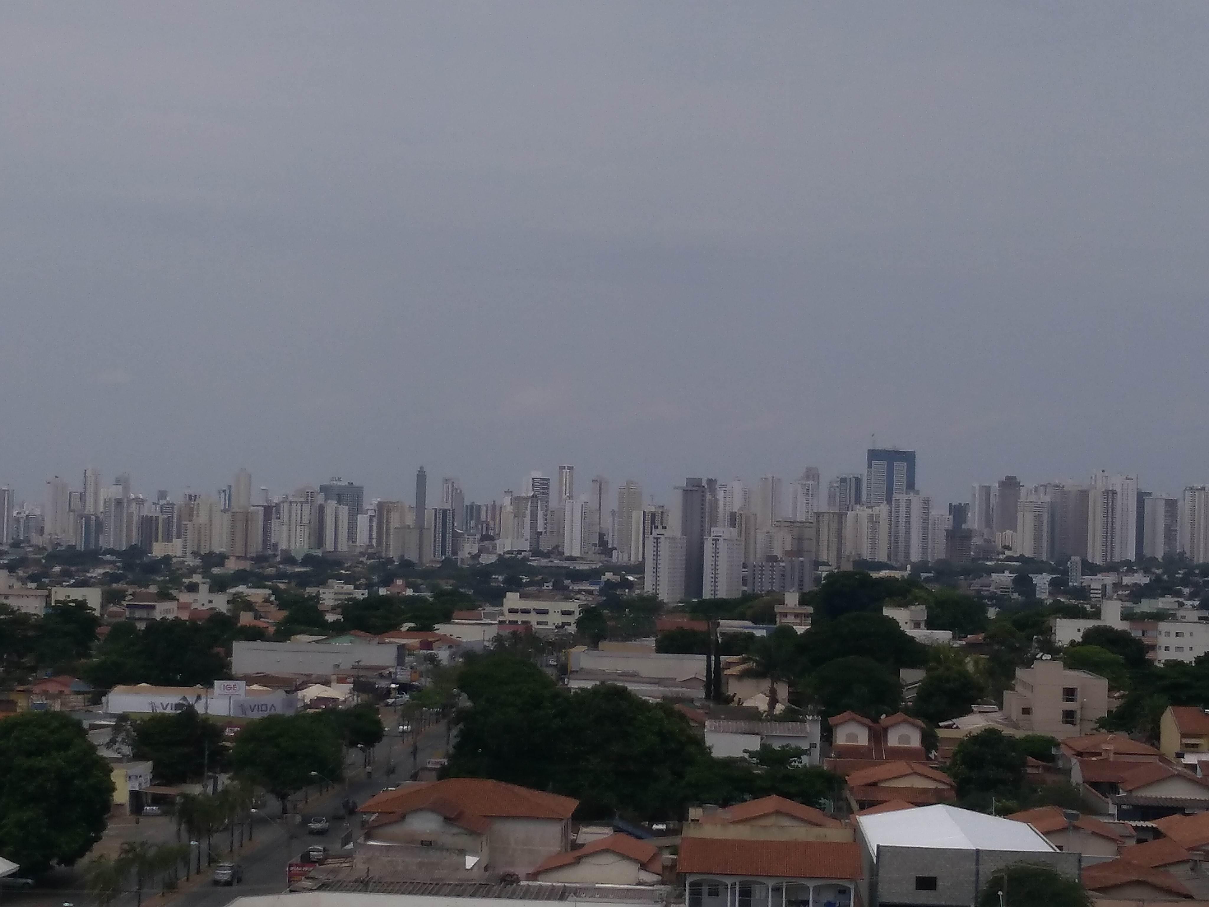 Goiânia tem previsão de chuva para esta semana | Foto: Folha Z