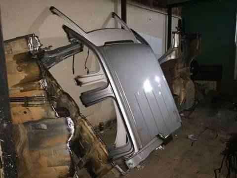 Veículos roubados foram identificados no local   Foto: Divulgação / PMGO