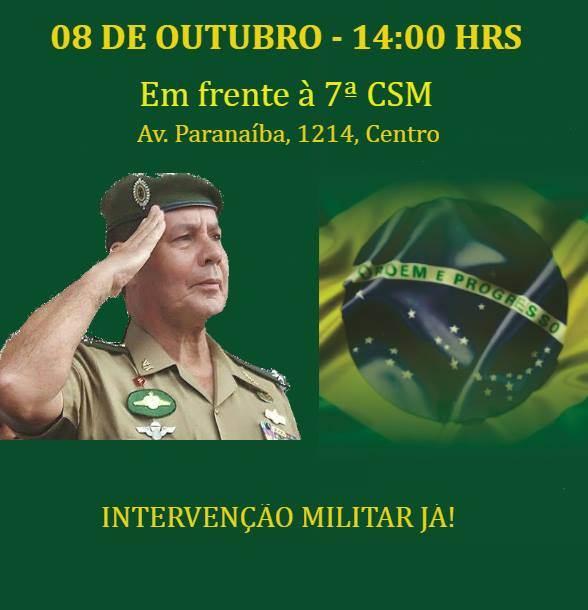 Concentração para o evento está marcada para a Av. Paranaíba, no Centro de Goiânia | Foto: Reprodução / Facebook