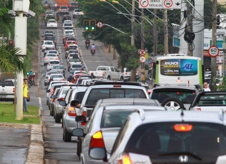 Radares registram grande volume de infrações de trânsito em Goiânia   Foto: Reprodução