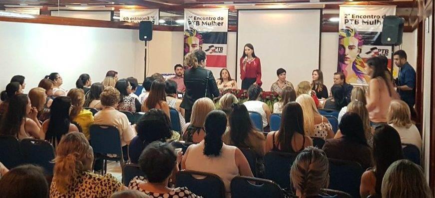 Evento do PTB Mulher reuniu mais 200 visitantes em hotel de Goiânia   Foto: Valdemy Teixeira
