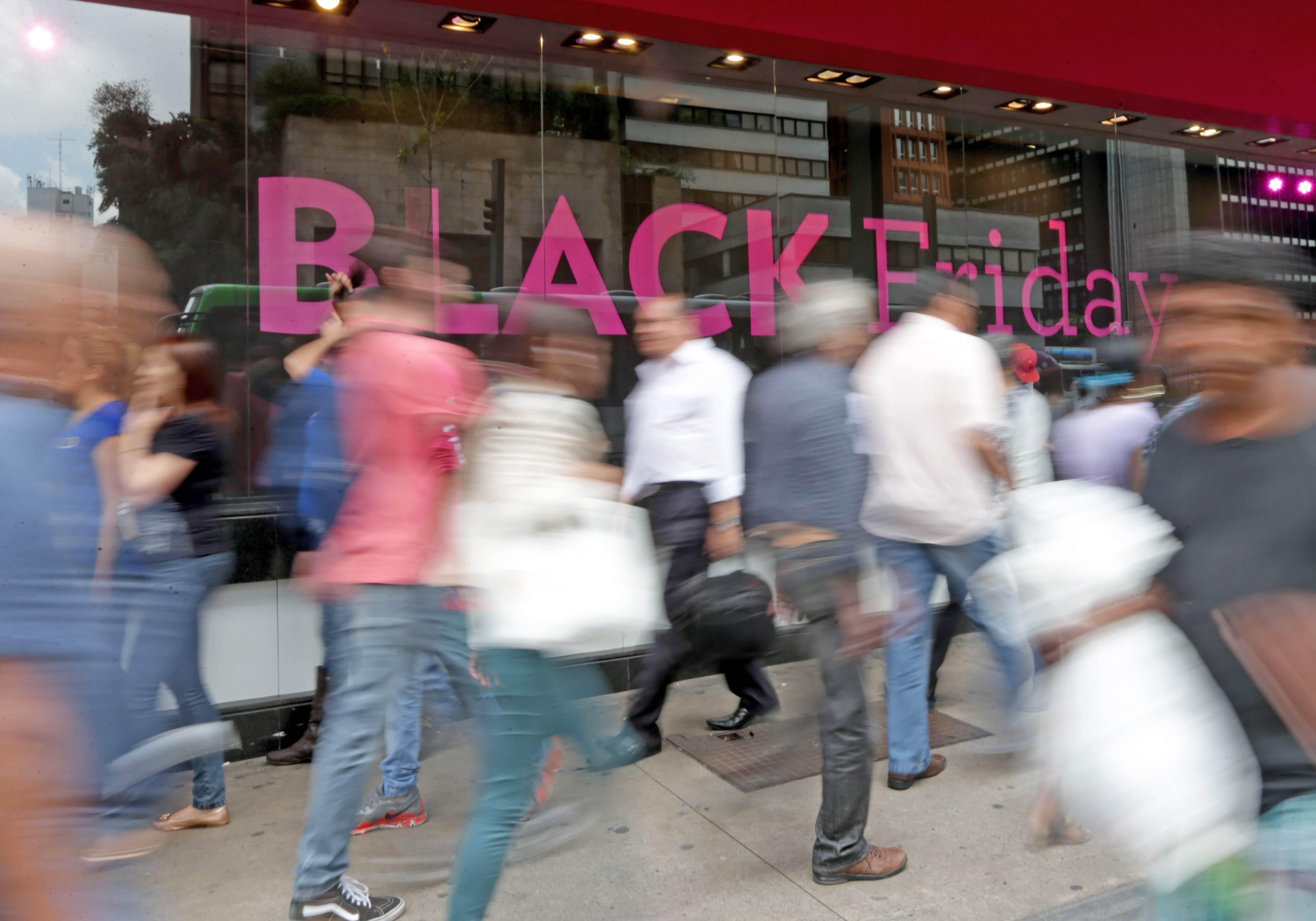 Black Friday 2017 é o período de liquidação antes do Natal   Foto: Paulo Pinto / Fotos Públicas