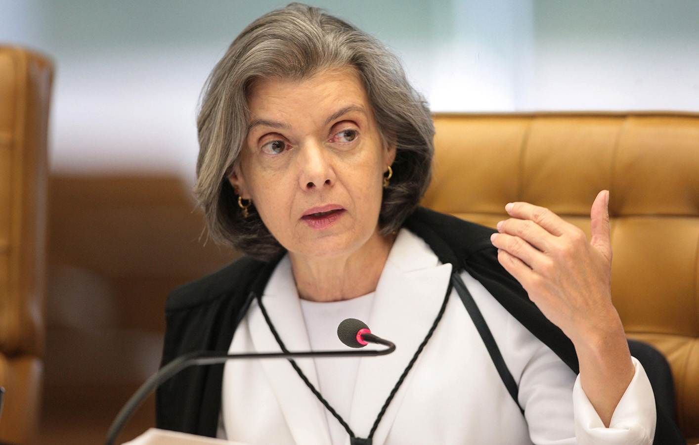 Presidente do STF, ministra Cármen Lúcia | Foto: Carlos Humberto/ SCO/ STF