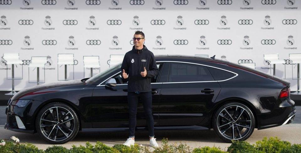 Audi RS7 foi presente da montadora ao craque Cristiano Ronaldo | Foto: Reprodução