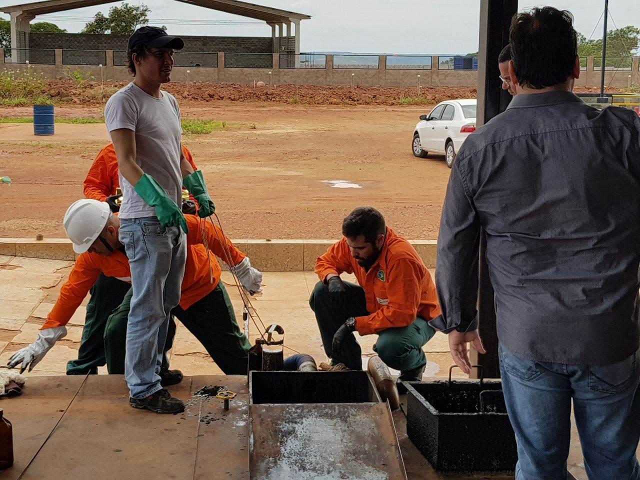 Em ação conjunta com a polícia do Rio, empresário goiano é preso por receptação de petróleo furtado   Foto: Divulgação/ PC-GO
