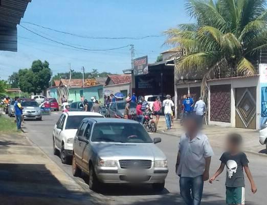 Em Aparecida, homem é assassinado com 10 tiros no rosto   Foto: Leitor/ WhatsApp