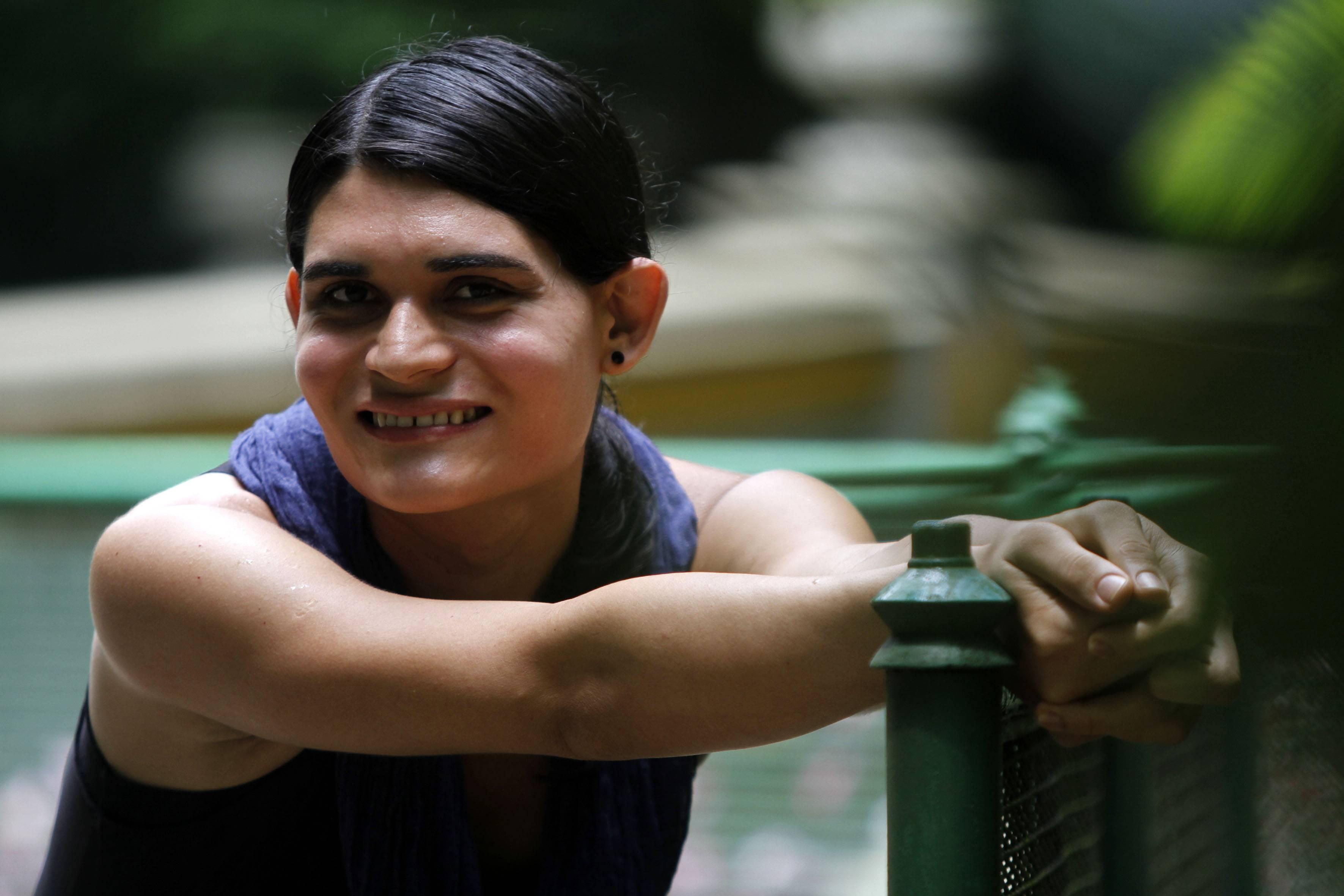 Professora Alfonsina Araújo, 30 anos passou por processo de readequação de gênero | Foto: Cristino Martins / AG. PARÁ
