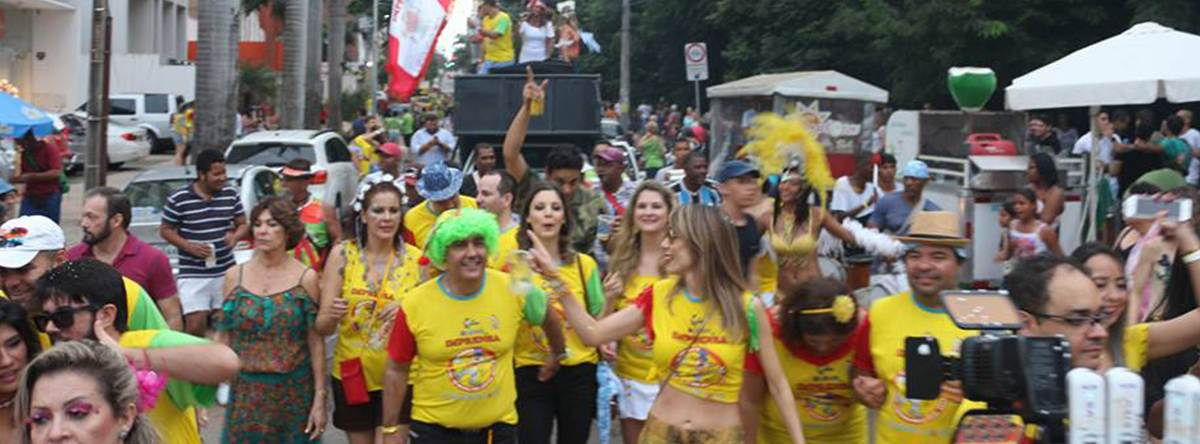 Bloco da Imprensa   Foto: Divulgação