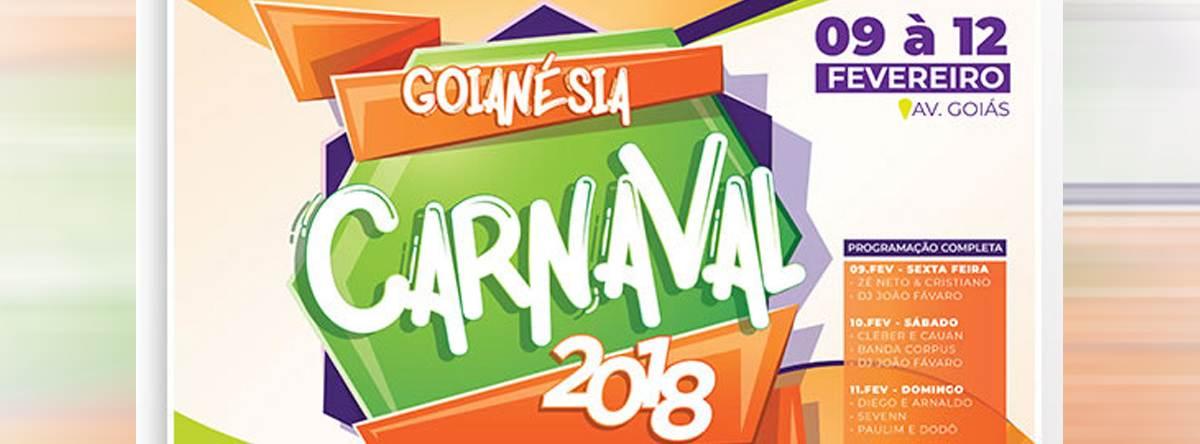 Carnaval Goianésia 2018   Foto: Divulgação