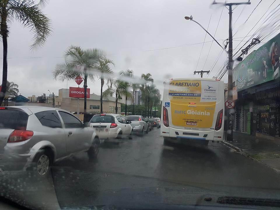 Instituto Nacional de Meteorologia (INMET) publicou um alerta sobre o clima em Goiânia   Foto: Folha Z