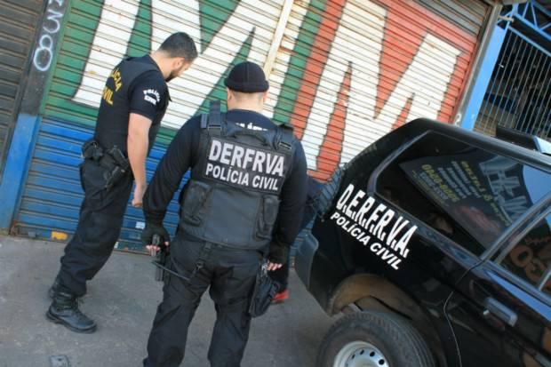 Dezembro de 2017 registrou o menor número de veículos roubados em Goiânia desde 2012 | Foto: Divulgação/ PC