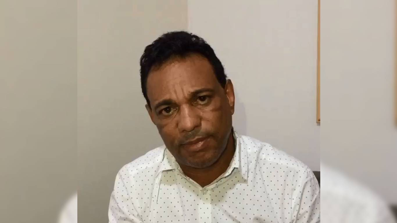 Beto Brasil grava vídeo se desculpando por caso da Musa do Goiás | Foto: Reprodução