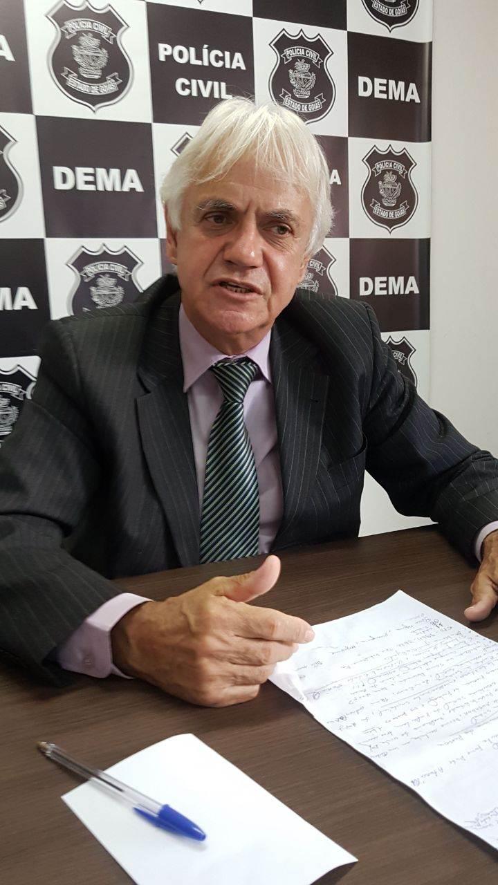 Titular da Delegacia Estadual do Meio Ambiente (Deam) Luziano Carvalho | Foto: Folha Z