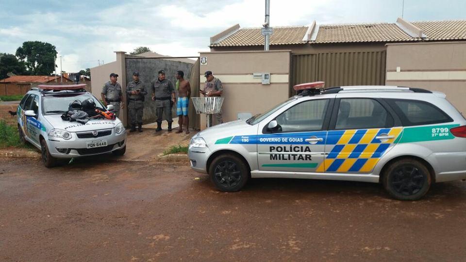 Roubos de carros em Bela Vista de Goiás assustam moradores   Foto: Divulgação/ PM
