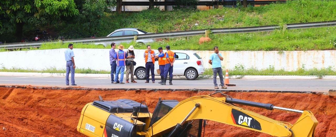 Trabalho de técnicos federais agiliza liberação de recursos para a revitalização da Marginal   Foto: Prefeitura de Goiânia