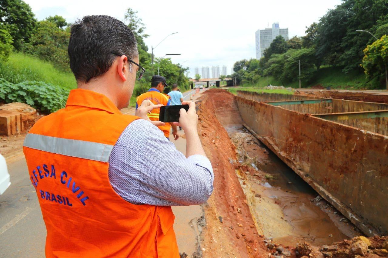 Marginal Botafogo deve receber verba federal após laudo técnico   Foto: Prefeitura de Goiânia