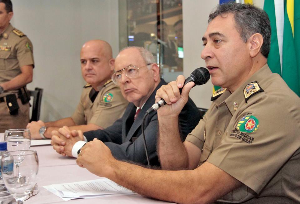 Comando da PMGO, que acaba de publicar regimento da Comissão de Direitos Humanos da corporação | Foto: Divulgação/ PMGO