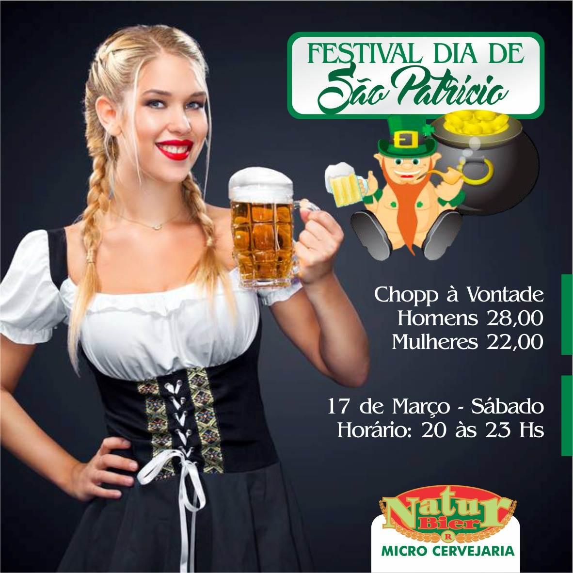 Natur Bier celebra Dia de São Patrício com chope alemão   Foto: Divulgação