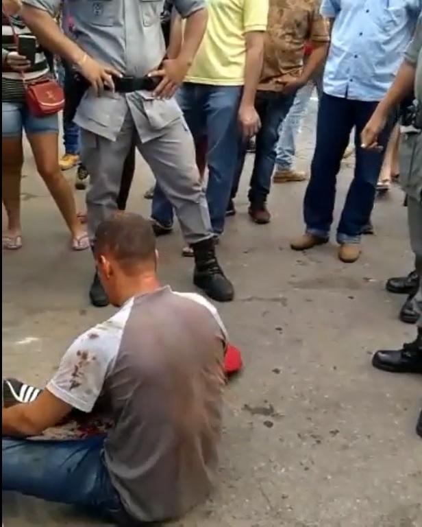 Homem suspeito de praticar furtos na Feira Hippie | Foto: Divulgação