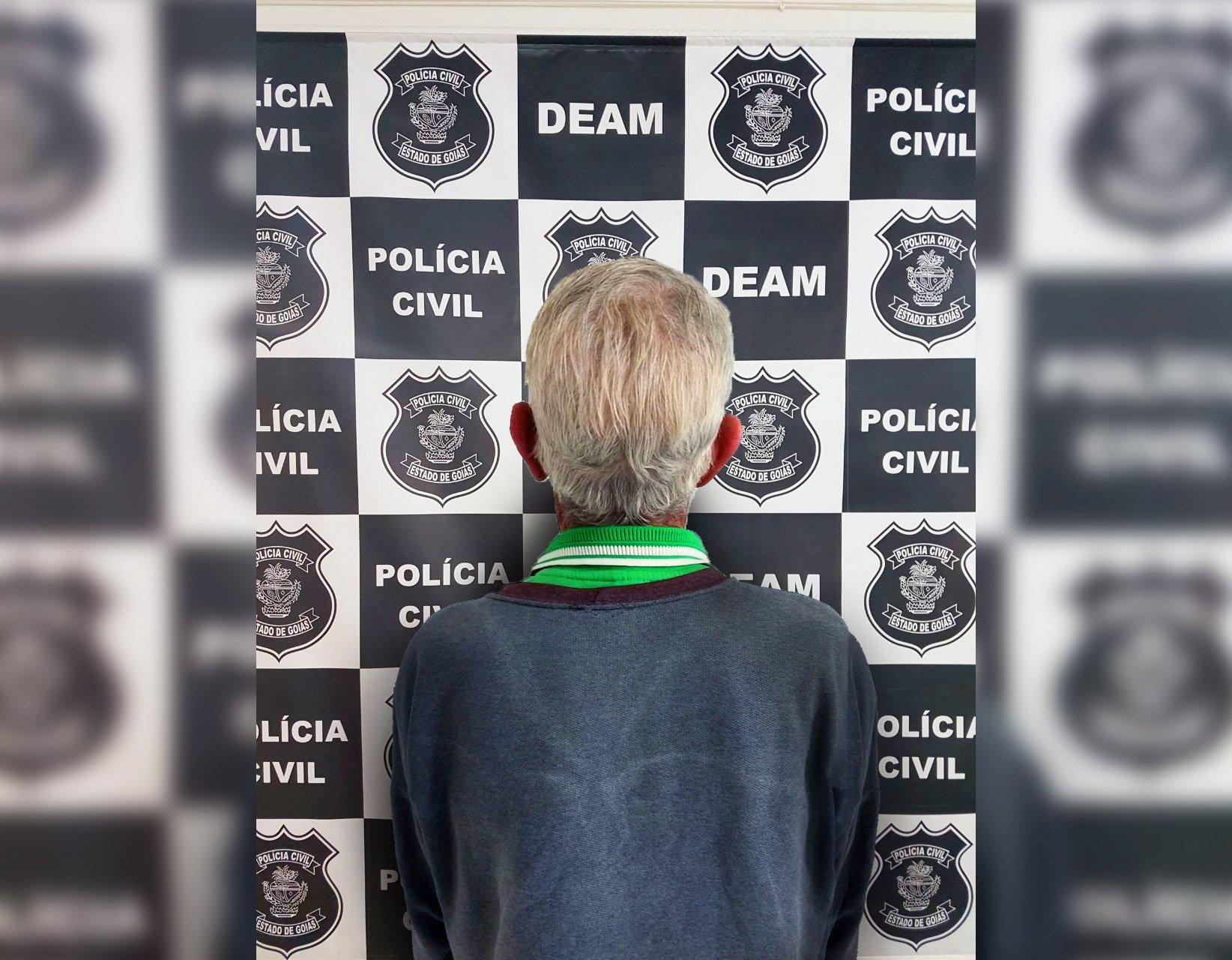 Suspeito de pedofilia, Idoso é preso por estupro de criança em Valparaíso   Foto: Divulgação/ Polícia Civil
